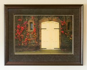 Coppola Winery Door - Fine Art Photograph by Nat Coalson