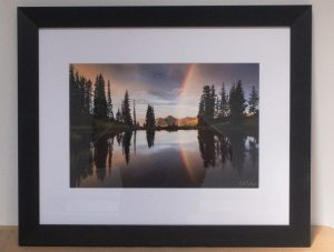 Paradise Divide - Framed Print by Nat Coalson
